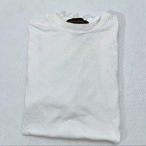 Banana Republic Cotton Crewneck T-Shirt Size Small